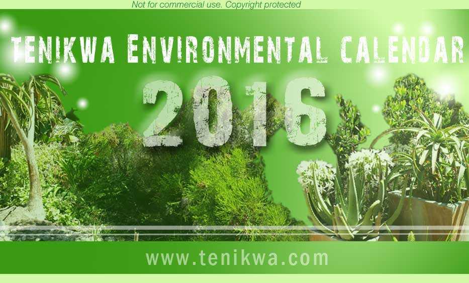 Environmental Calendar 2016