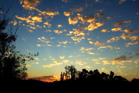 Sunset at Tenikwa
