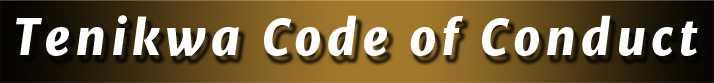 Tenikwa Code of Conduct